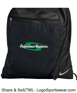 PR Backsack Black Design Zoom
