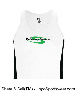 PR Women's Race Singlet Design Zoom