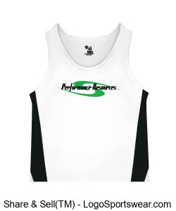 PR Men's Race Singlet Design Zoom